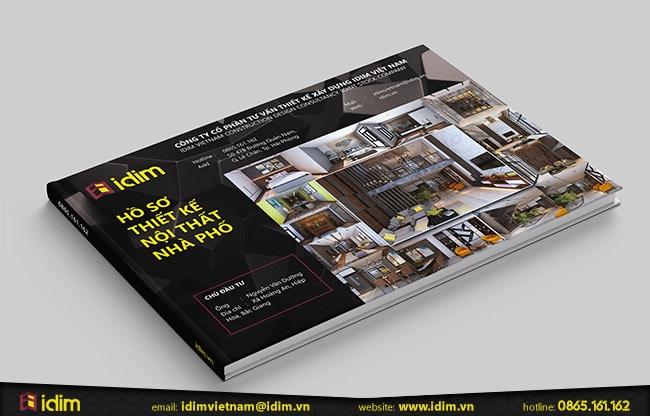 Hồ sơ thiết kế nội thất nhà phố